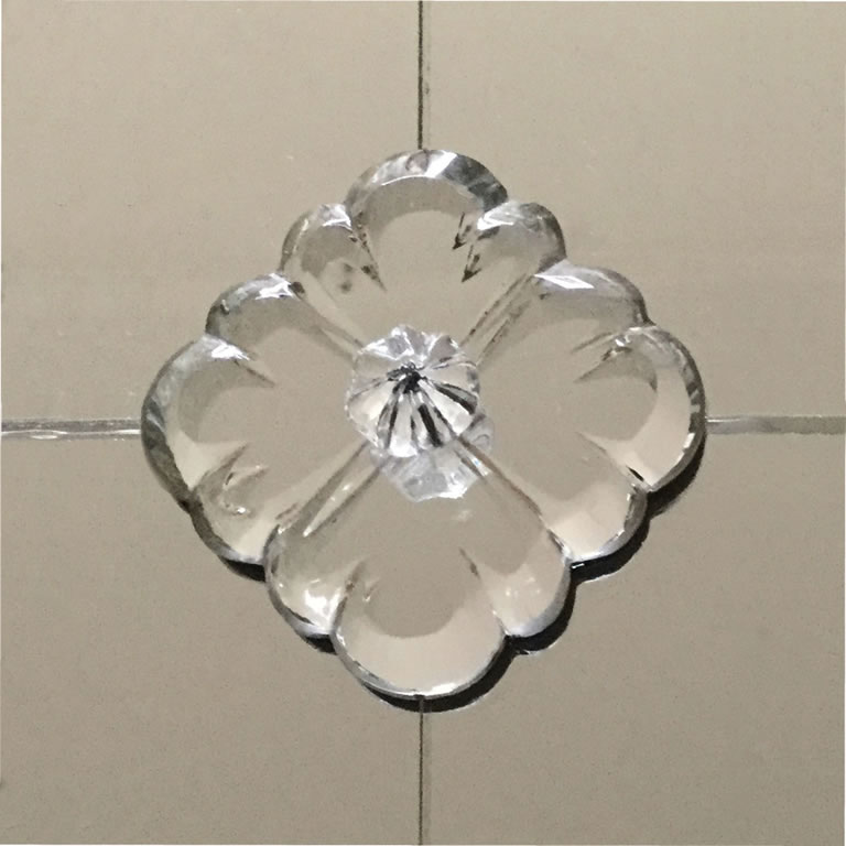 Hand Bevelling Ellison Art Glass, How To Use Mirror Rosettes