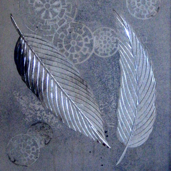 Feathers - from the Brilliant Cutting Contemporary Designs portfolio | Ellison Art Glass