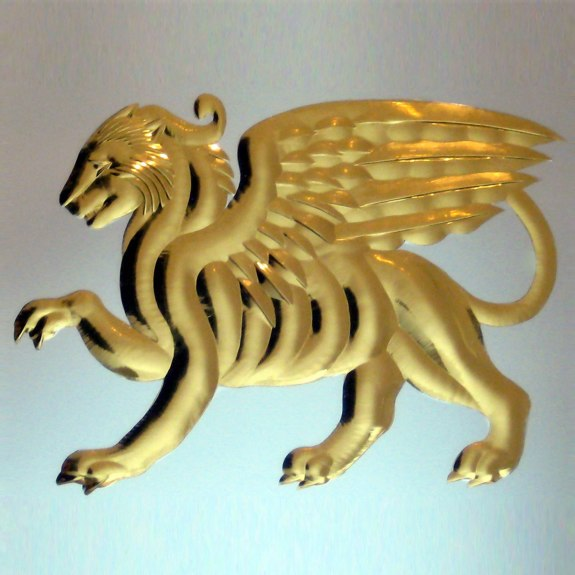 Griffin - from the Brilliant Cutting Traditional Designs portfolio | Ellison Art Glass