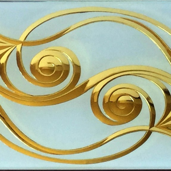 Lux - from the Brilliant Cutting Traditional Designs portfolio | Ellison Art Glass